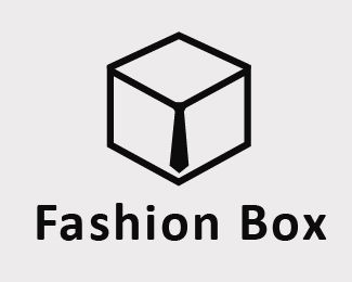 Box with a tie :) Logo for sale #fashion #tie #store #box #clothes #logo #design #sale