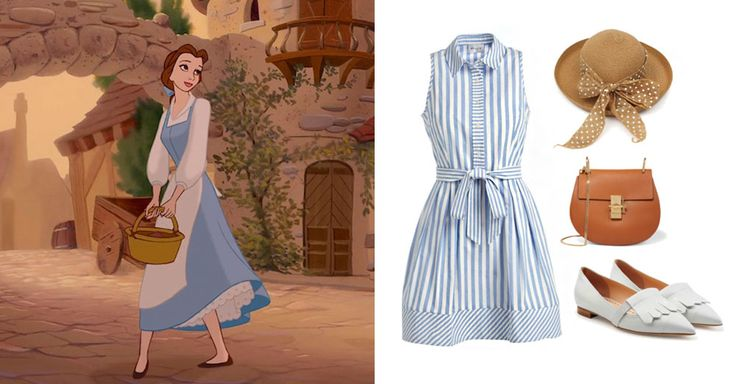 3 Parisian outfits inspired by Disney and Disney•Pixar characters | Beauty and the Beast | [ https://style.disney.com/fashion/2016/06/28/parisian-style/ ]