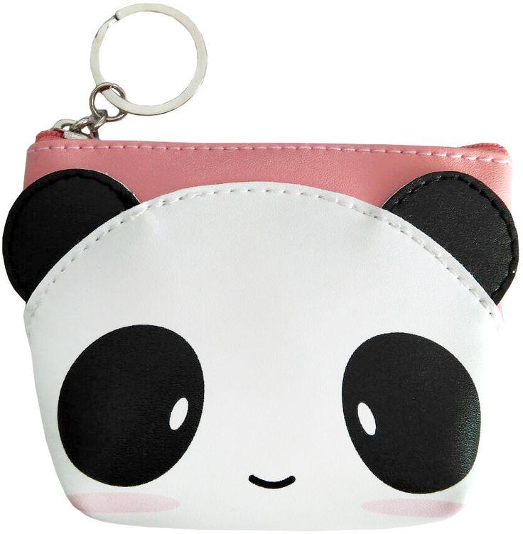 Monedero Kawaii panda #purse #gotico #tienda #gotica #gothic #xtremonline