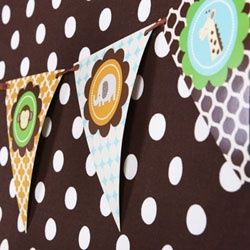 Jungle Safari Baby Shower Party Kit  - i like the banner and other pieces