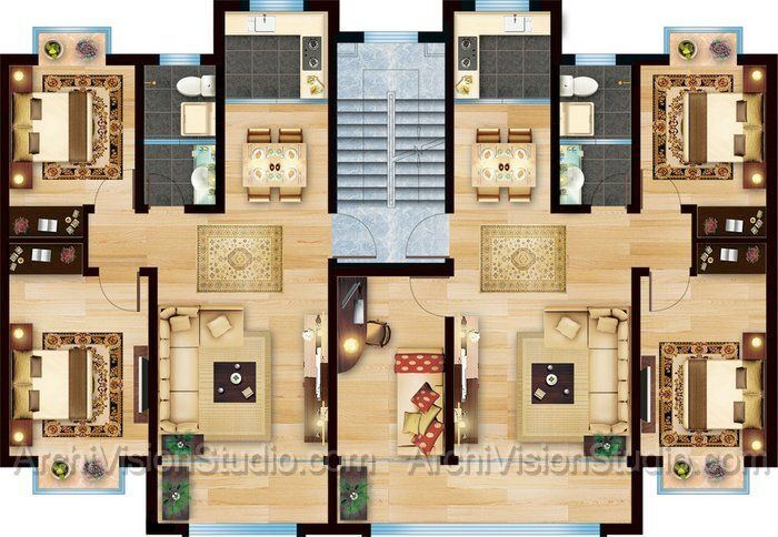 3d 2 story floor plans on apartments with home floor plan design