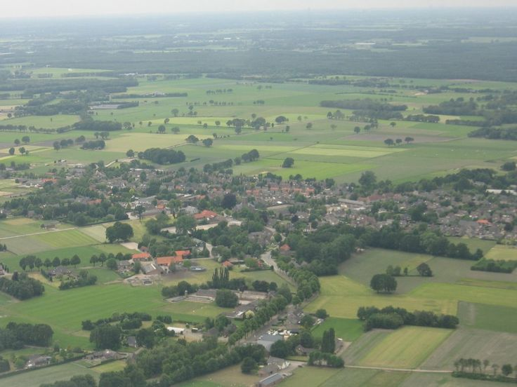 Luchtfoto Wintelre door Michiel 1972