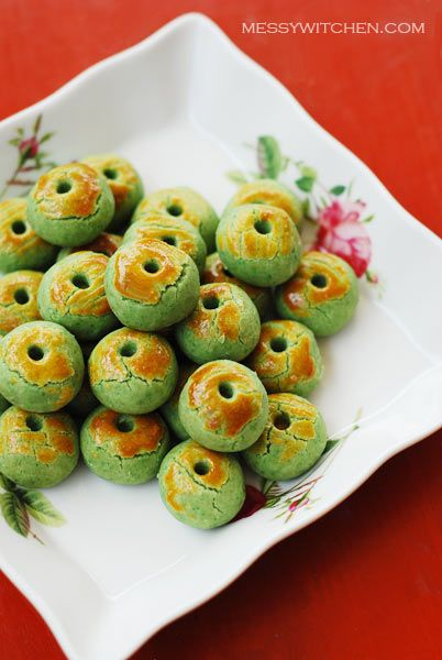 232 best chinese new year party images on pinterest asian food chinese new year cookies recipe here chinese new year cookies green pea cookies forumfinder Images