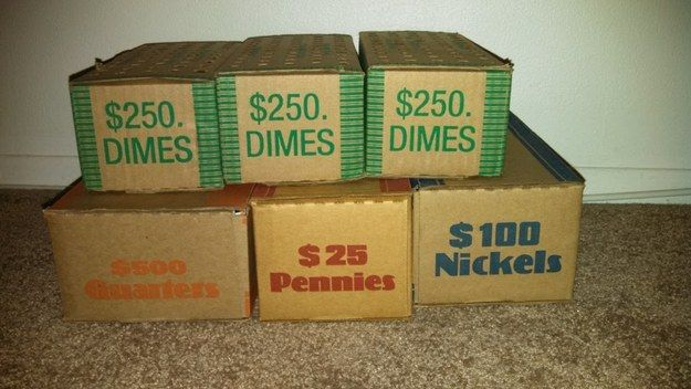 Lifting boxes of coins counts as a workout. | Community Post: 23 Signs You Are (Or Were) A Bank Teller