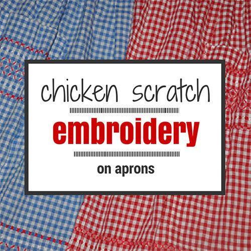 104 Best Chicken Scratch Embroidery Images On Pinterest Chicken