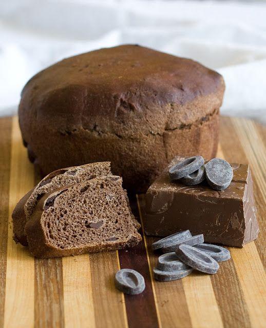 Sweet Savory Planet: Chocolate Bread