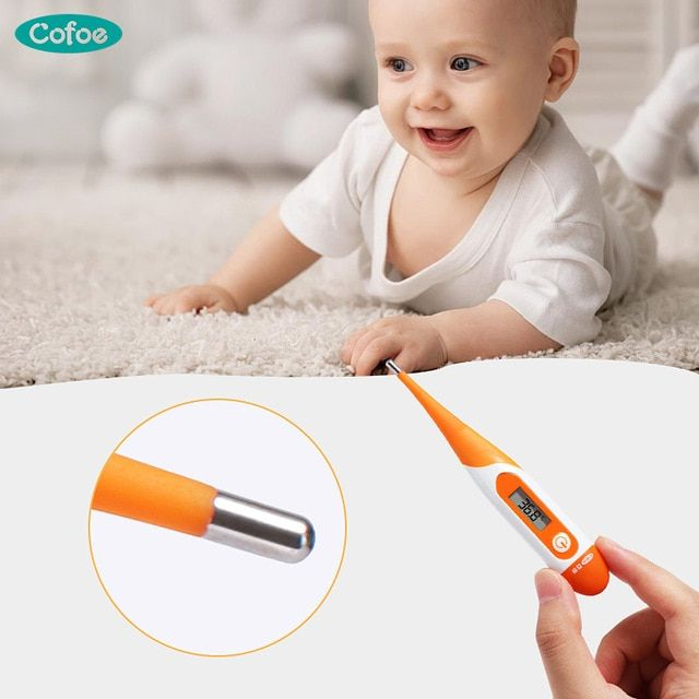 2x Safe Infant Kid Baby Forehead Strip Head Temperature Test Thermometer Sticker