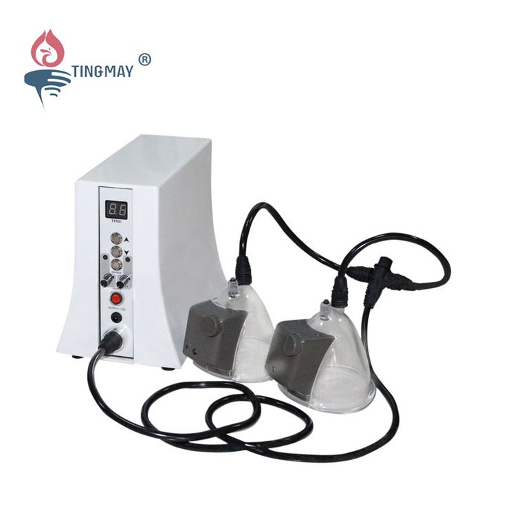 Breast and butt enlargement machine with vacuum cupping TM-505B  It is not a pushed-up or filled breast plumping bra or silicone implant.  It can make your breasts beautiful and natural by the physiological cycle of females.   http://tmay.com/Breast-and-butt-enlargement-machine-with-vacuum-cupping-TM-505B