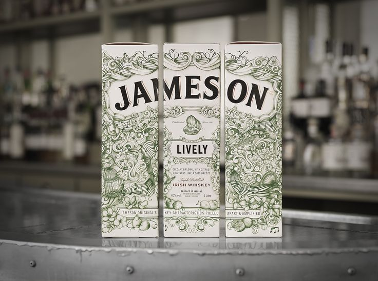 Jameson Whiskey – The Deconstructed Series on Packaging of the World - Creative Package Design Gallery