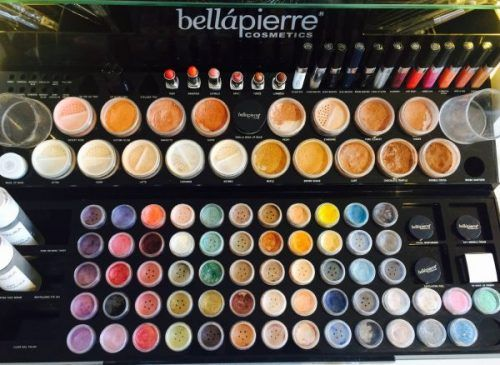Natural makeup from Bellapierre