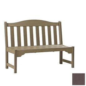 Siesta Furniture 60 In L Resin Patio Bench