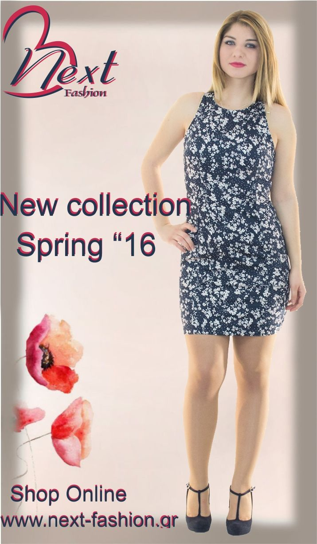 #Women's #fashion #clothing #floral #dress #cute #short #tight #blue #spring #2016 #γυναικεία #μόδα #ρούχα #μπλε #κοντό #στενό #φόρεμα #εμπριμέ #άνοιξη #next #fashion #εφαρμοστό