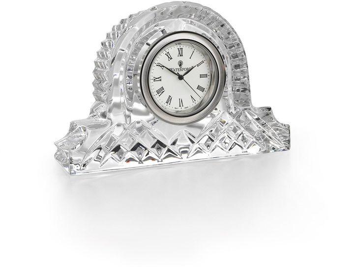 Waterford Lismore small mantel clock 6cm
