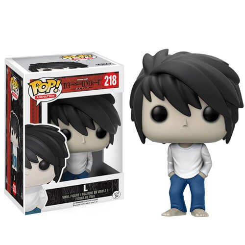 Buy Death Note L Pop! Vinyl Figure from Pop In A Box UK, the home of Funko Pop Vinyl subscriptions and more. Free delivery available!