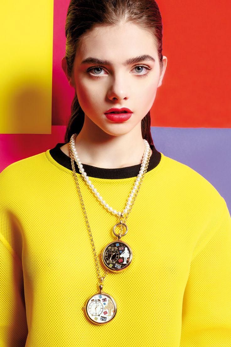 """LE CAROSE www.lecarose.com Collane con pendenti orologio """"cipolla"""""""