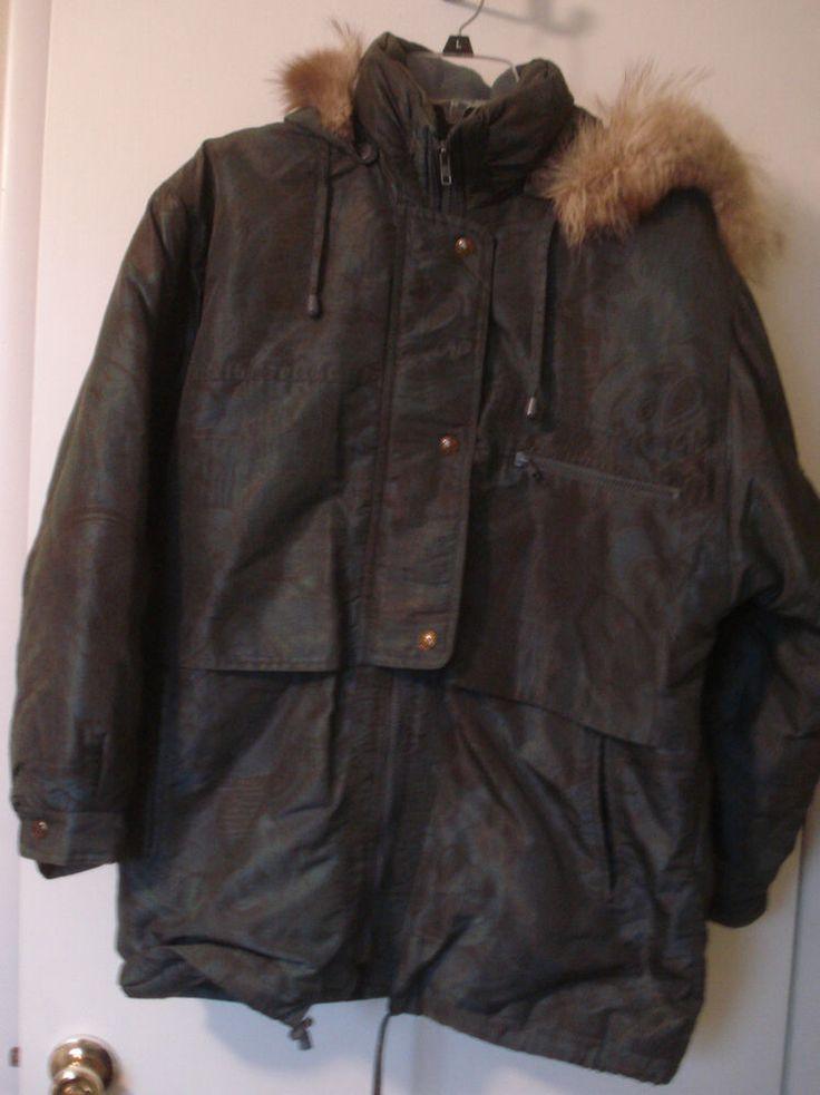 Womenu0026#39;s Innovations by IZZI Jacket Coat Size M Green #IZZI #Parka | Womens Coats | Pinterest ...