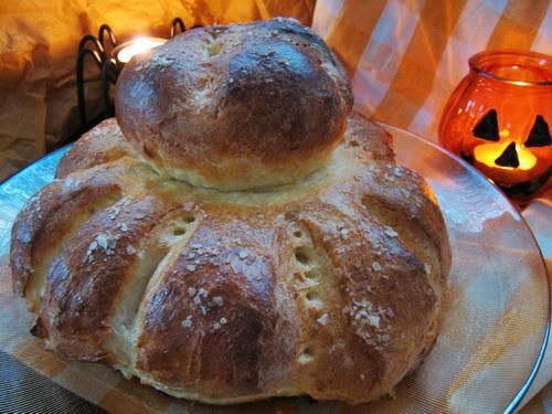 Traditional Cottage Loaf -  Old Fashioned Rustic English Bread. Photo by Annacia | from Food.com