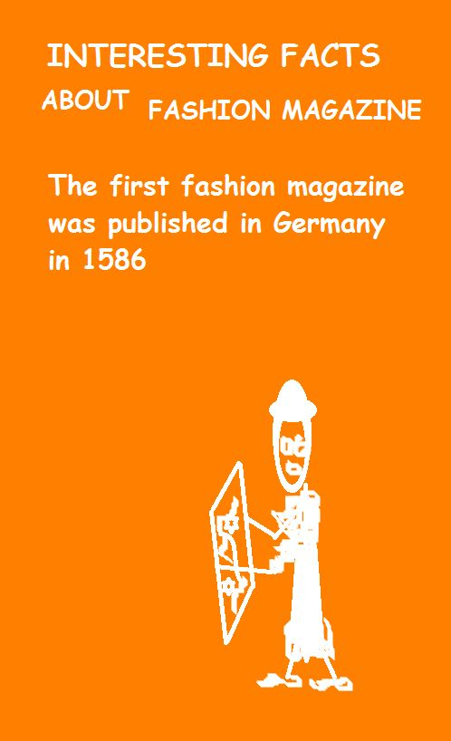 15 best images about Interesting facts about fashion on Pinterest ...
