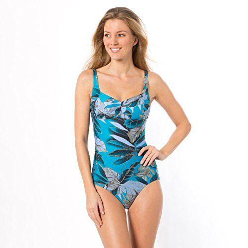 Anne Weyburn Donna Costume Da Bagno Ventre Piatto Taglia 44 Blu La Redoute http://ebay.to/1QypuRM