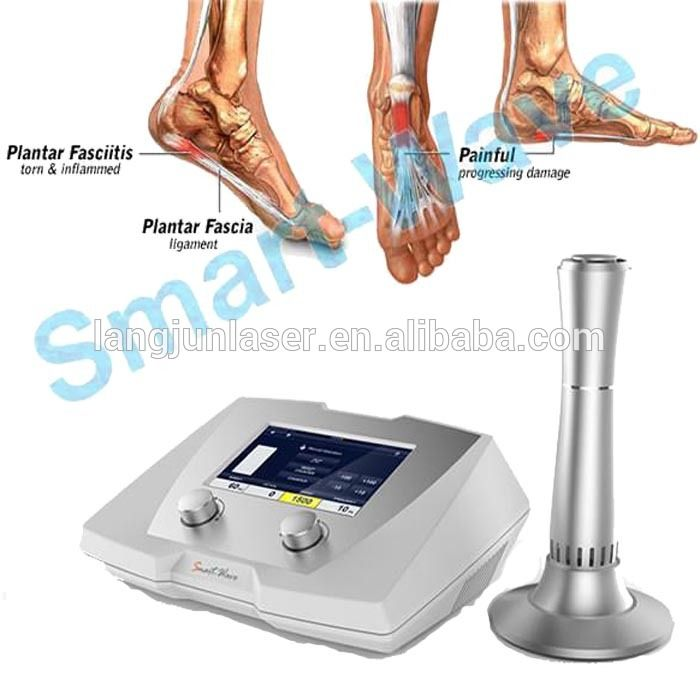 Extractorporeal Physiotherapy Equipment Shock wave Therapy for foot pain tennis elbow and Achilles