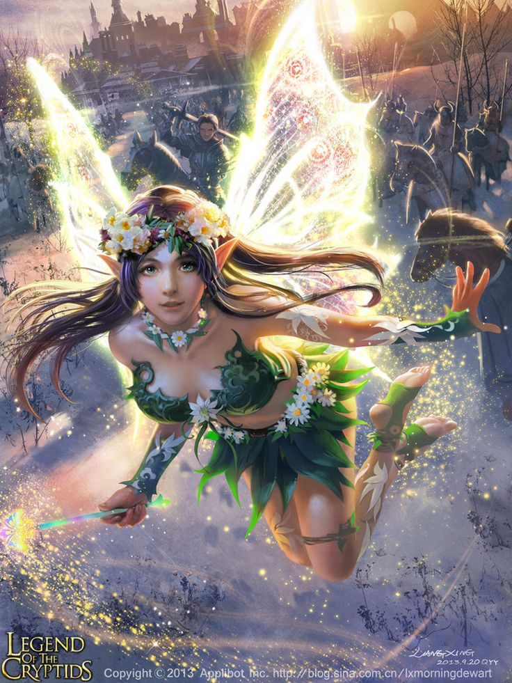 #AweSomEilluStrationS - Marvelous Fairy Raili-adv by liangxinxin on deviantART