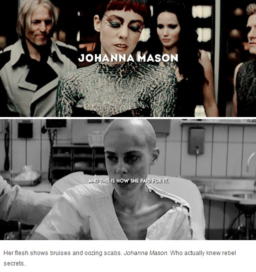 Johanna Mason #CatchingFire #Mockingjay