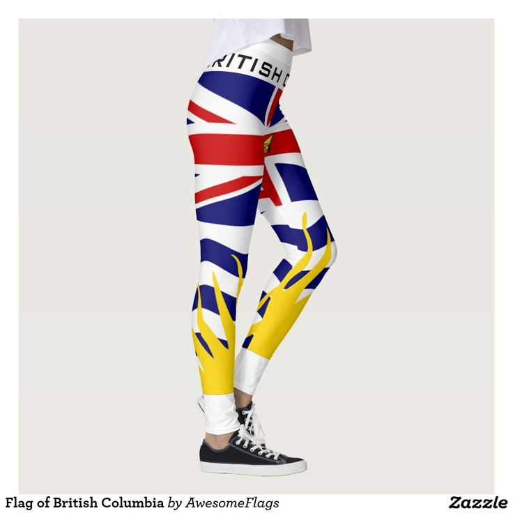 Flag of British Columbia Leggings