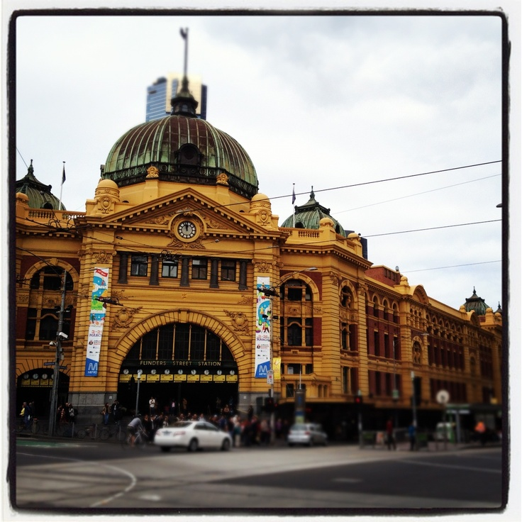 Flinders St Station,Melbourne
