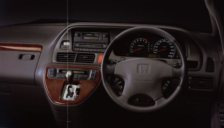 https://flic.kr/p/DHef7d | Honda Odyssey interior; 2001_2  (Australia) | front cover car brochure by worldtravellib World Travel library