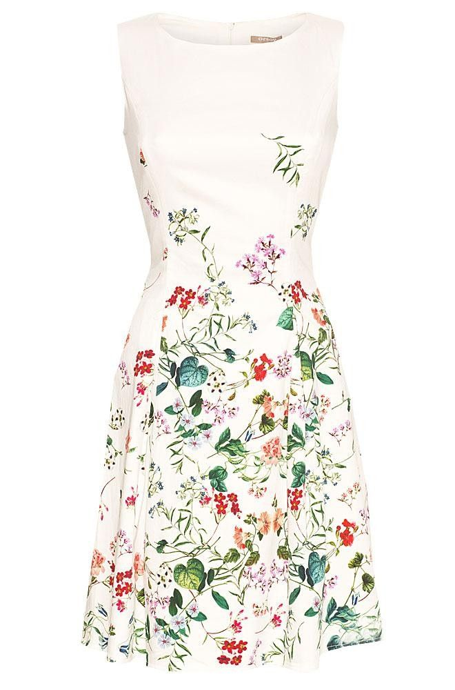 dress with floral print - Orsay