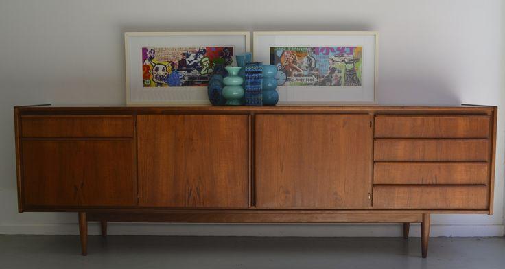 Australian made parker 60 39 s sideboard at tangerine teal sydney t t sells mcm furniture - Deco lounge parket ...