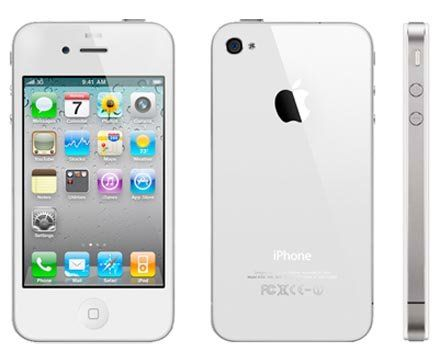 Apple iPhone 4 16GB (White) on Orange / T-Mobile / Virgin Networks