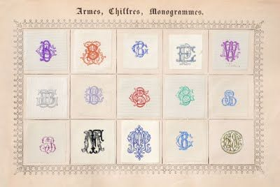 Letterology: More Magnificent Monograms