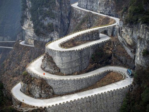 Where in the world is this crazy road?