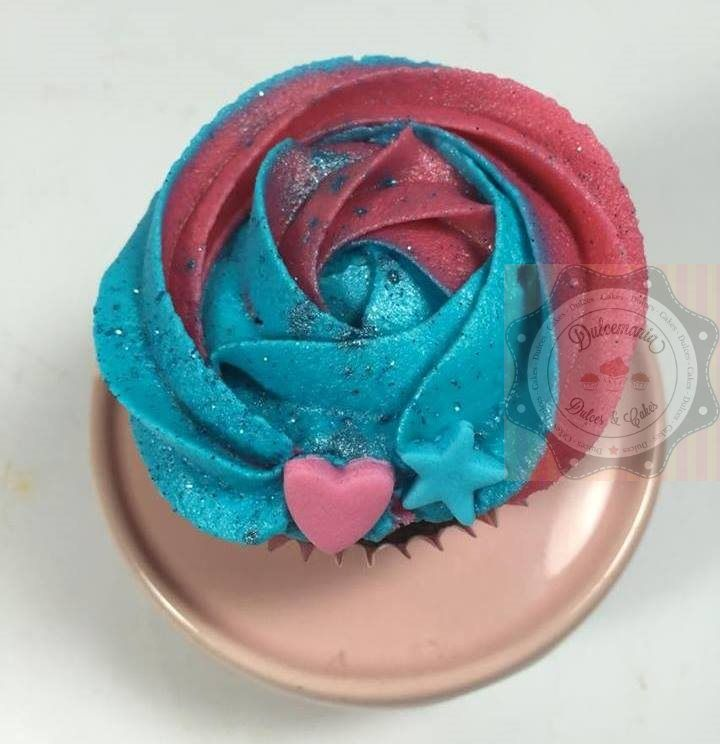 CUPCAKE TEEN ROSA E AZUL - CUPCAKE JOVENES FUSCIA Y CALYPSO - TEEN CUPCAKE ROSE AND BLUE