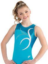 Turquoise Bliss Tank Leotard from GK Gymnastics