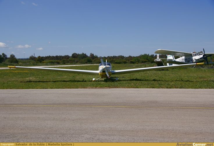 AviationCorner.net - Aircraft photography - Scheibe SF-25 Rotax Falke