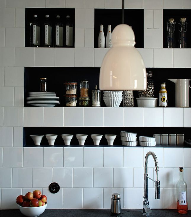 16 best ideas about Recessed Wall Shelves on Pinterest