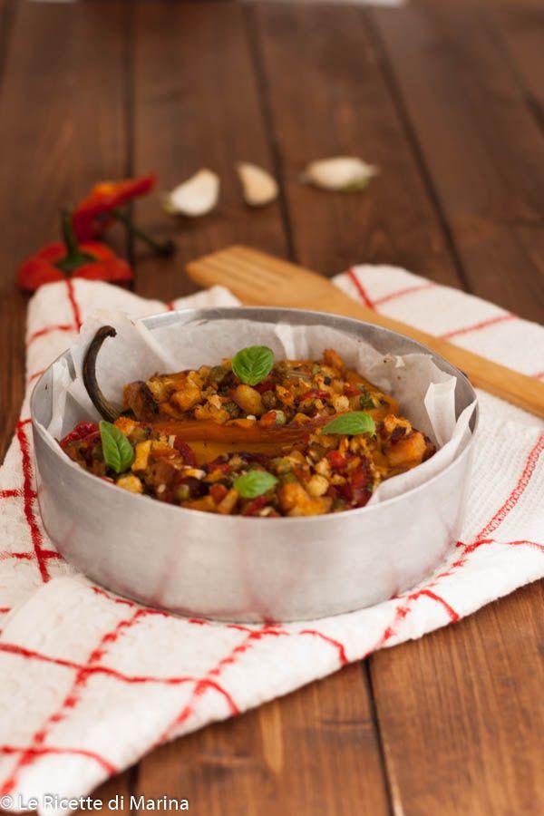Peperoni Ripieni Di Verdure Le Ricette Di Marina Secondi Carni