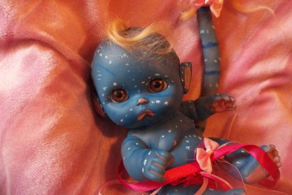 Reborn Made To Order Mini Avatar Baby Alien By