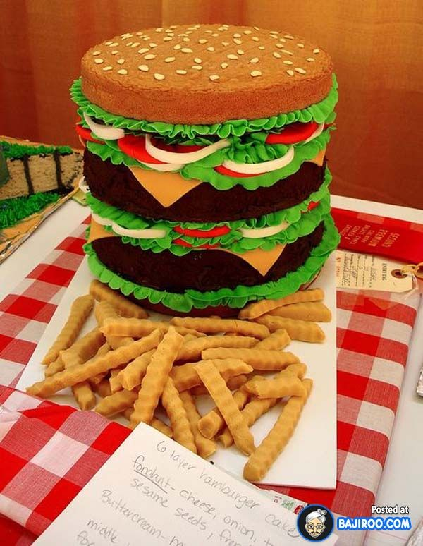 20 Funny And Creative Cakes