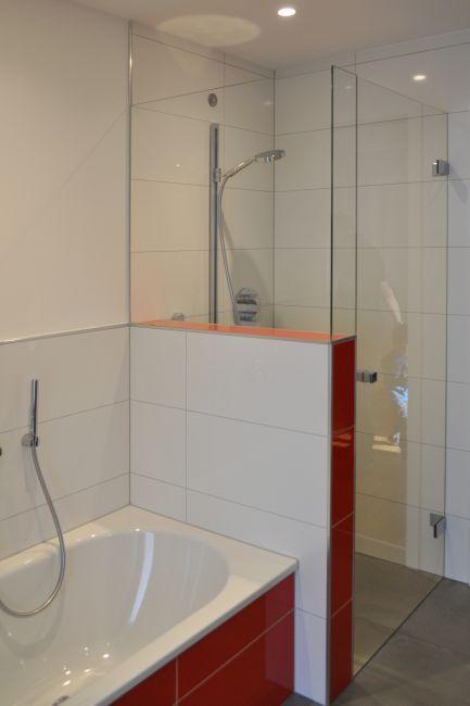Badbereich Dusche Wanne Klocke Badewanne Mit Dusche