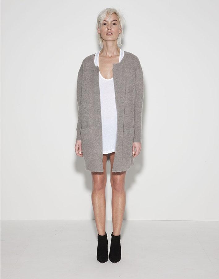 Moss Copenhagen; Vogue, grey melange 750kr