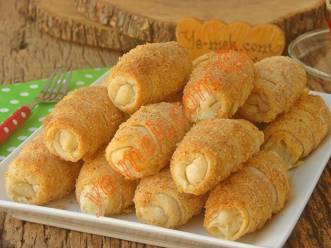Hazır Yufkadan Peynirli Kruvasan Börek Resimli Tarifi - Yemek Tarifleri