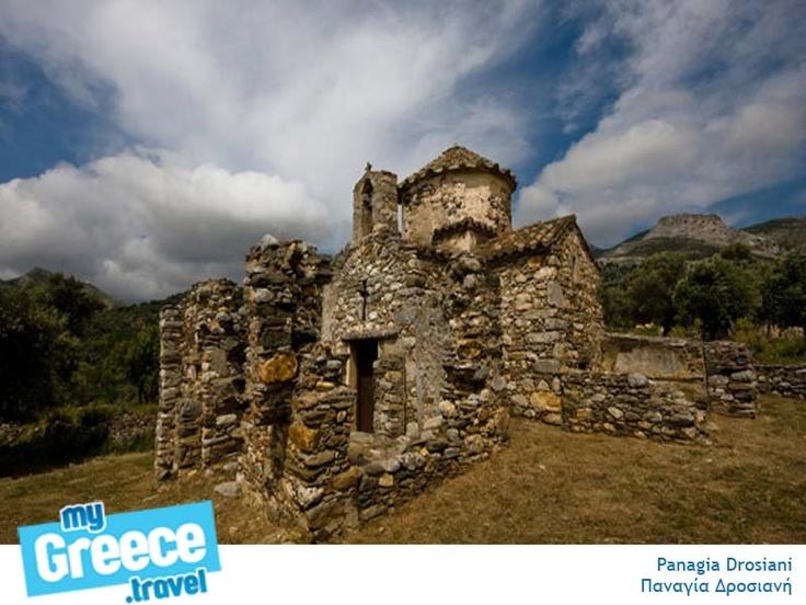 The Panagia Drosiani Church in Naxos.  http://www.naxos-tours.gr/en/