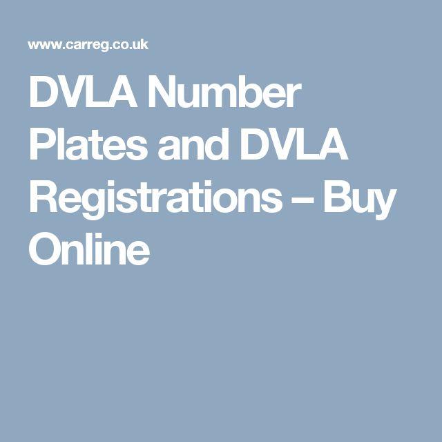 DVLA Number Plates and DVLA Registrations – Buy Online
