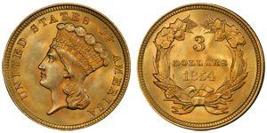 1854 $3 Indian Princes ☆ Více informací o výstavě Flowing Hair naleznete na oficiální stránce http://www.flowing-hair.cz/