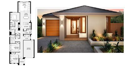 Planos casas modernas planos y fachadas de casas modernas for Fachadas de casas de un solo piso