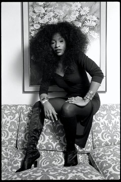 """sonofbaldwin: so-treu: Chaka Khan. """"This isn't about Fantasma. This is about me. In MY catsuit. Serving you rainbow roll. Which is severa..."""