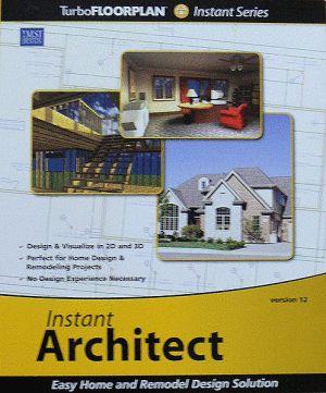 Top Home Design and Architecture Software Programs: IMSI TurboFLOORPLAN Instant Architect